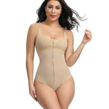 Load image into Gallery viewer, Women's Slimming Underwear Bodysuit Body Shaper Postpartum Recovery Slimming Zip and Hook Corset