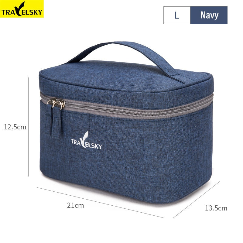 New Portable Travel Cosmetic Bag Women Makeup Bag Case Pouch Toilet