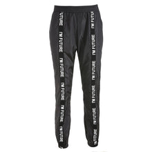 Load image into Gallery viewer, Harem Pants Trousers Women Full Length Loose Jogger Sporting Black Casual Combat Streetwear