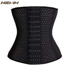 Load image into Gallery viewer, 6 Rows Hook Steel Bone  Body Shaper Corset Slimming Belt Tummy Fat Burner Girdle Waist Trainer