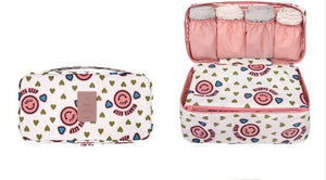 New Travel Bra Underwear Organizer Bag Cosmetic Bra Toiletries Bag Storage Packing cubes case