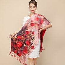 Load image into Gallery viewer, Fashion Designer Ladies Big Scarf Brand Wraps Real Double-deck Thickened Brush Autumn Winter