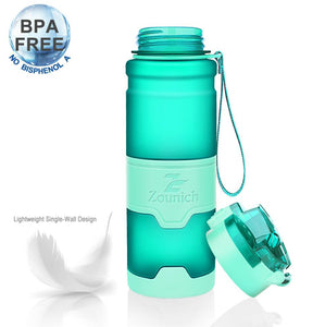 Water Bottle 1000ml sports Protein Shaker Portable Leakproof plastic Large Capacity BPA Free