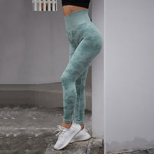Load image into Gallery viewer, Women Seamless Tummy Control Yoga Pants High Waist Sport Leggings Stretch Fit Gym Tights Camouflage Workout Running Pants