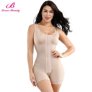 Full Body Shaper Slimming Waist Trainer Tummy Control Corset Open Crotch Bodysuit Postpartum Push Up Underwear Shapewear