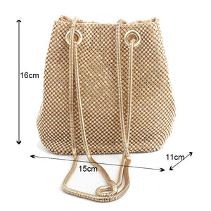 Clutch evening bag luxury women bag shoulder handbags diamond bags lady wedding party pouch small bag satin totes