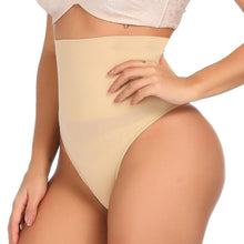Load image into Gallery viewer, Women High Waist Trainer Tummy Slimming Control Thong G-string Butt Lifter Seamless Panties