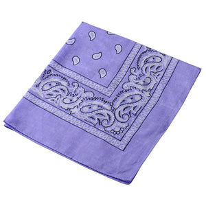 Women Cute Print Bandana Square Head Scarf Scarf Women Motorcycle Outdoor Hats Cool Activities In Necklace