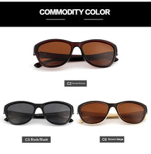 Load image into Gallery viewer, Luxury Brand Designer Brown Cat Eye Polarized Sunglasses Womens Lady Elegant Sun Glasses Female Driving Eyewear Oculos De Sol