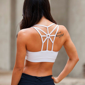 Hollow Woman High Impact Sports Bra Top Academia Active Wear