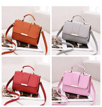Load image into Gallery viewer, Summer Fashion Women Bag Leather Handbags PU Shoulder Bag Small Flap Crossbody Bags for Women Messenger Bags