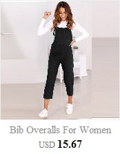 Bib Overalls For Women Rompers Backless Jumpsuit Strap Slim Trousers Playsuit Summer Casual Ankle-Length Pants Jumpsuit