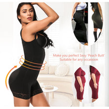 Load image into Gallery viewer, Clip and Zip Waist Lace Slimming Shaper Corset Control Shapewear Butt Lifter Strap Body Shaper Underwear Bodysuit Women