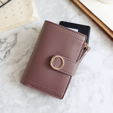 Load image into Gallery viewer, Women Wallets Small Fashion Brand Leather Purse Clutch