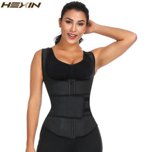 Load image into Gallery viewer, Latex Waist Trainer Corset High Compression Women Zipper Underbust Girdle