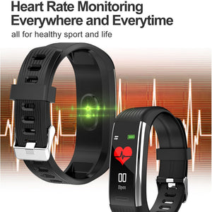 Smart Band Blood Pressure Measurement Pedometer Fitness Tracker Watch Smart Bracelet Women Waterproof For Android Ios