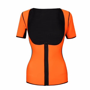 Neoprene Slimming  Vest Exercise Top Sauna Suit for Weight Loss Full Body Vest Shirts Thermo Sweat Waist Trainer