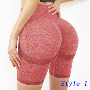 Booty Seamless Sport Women Fitness High Waist Yoga Pants Gym Seamless Energy Leggings Workout Running Activewear