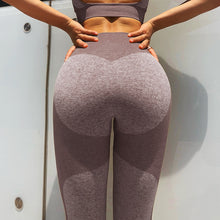 Load image into Gallery viewer, Sexy New Seamless Yoga Set Women Fitness Clothing Sportswear Woman Gym Leggings Padded Push-up Strappy Sports Bra  Sports Suits