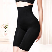 Load image into Gallery viewer, waist trainer  women shapewear tummy control panties slimming underwear body shaper butt lifter modeling strap high waist girdle