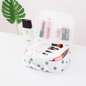 Organizer travel fashion lady cosmetics cosmetic bag beautician storage bags large capacity Women makeup bag