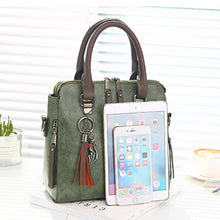 Load image into Gallery viewer, Luxury Vintage Ladies Hand Bags Totes Tassel Crossbody Bags for Women Famous Leather Shoulder Messenger Bag
