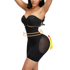 Full Body Shaper Modeling Belt Control Slips Butt Lifter Thigh Reducer Dress Tummy Control Push Up Shapewear Corset
