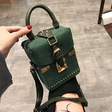 Load image into Gallery viewer, Beibaobao Women Handbags Box Package Square Bag Korean Version of the Wild Messenger Bag Square Mobile Messenger Bag