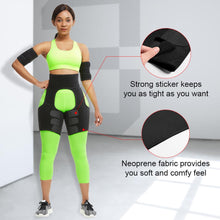 Load image into Gallery viewer, Slim Thigh Trimmer Leg Shapers Slender Slimming Belt Neoprene Sweat Shapewear Toned Muscles Band