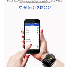 Load image into Gallery viewer, Smart Watch Men Women Blood Pressure Waterproof Heart Rate Tracker Sport Clock Watch Smart For Android IOS