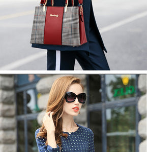 Fashion Luxury Handbags Women Bags Women Leather Handbag Shoulder Bag For Women 2018 Female Ladies Hand Bags Sac a Main