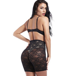 Sexy Slimming Lace Panties Tummy Control Butt Lifter Body Shaper Breathable Abdomen Enhancer Shapewear Underwear Panties