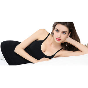 Women Sweat Sauna Vest  Body Shaper Waist Trainer Weight Loss Winter Keep Warm Top Strap Underwear