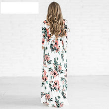 Load image into Gallery viewer, Autumn Dress Winter Long Dress Floral Print Boho Beach Dress Tunic Maxi Women Evening Party Dress Sundress Retro Hippie Vestidos