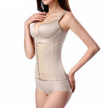 Load image into Gallery viewer, 6 Hooks Waist Trainer Workout Breathable Belly Band Fitness Focused Waist Shaper Women Shapewear Plus Size Corset Body 6XL