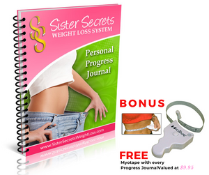 Sister Secrets Weight Loss System - Personal Progress Journal