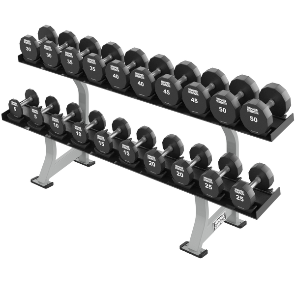 2 Tier Dumbbell Rack - Hammer FW-DR2