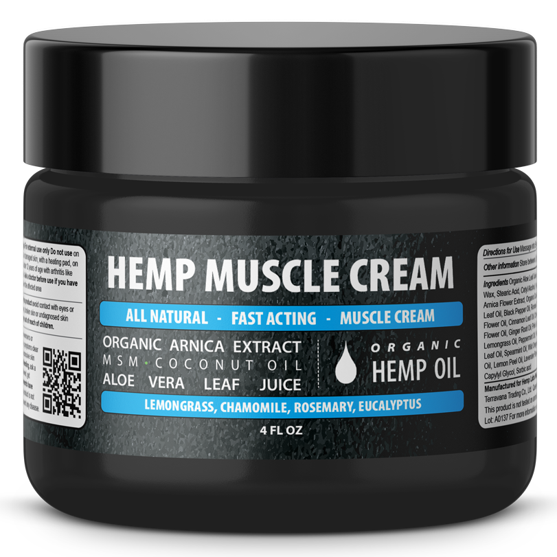 Hemp Muscle Cream