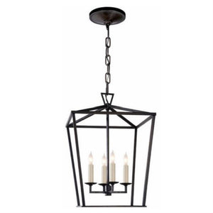 Visual Comfort E.F. Chapman Darlana 4-Light Foyer Pendant. CHC 2164AI