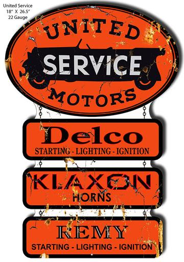 Motor Oil And Gas Station Signs