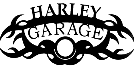 HARLEY GARAGE METAL SIGN