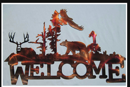 BEAR DEER & EAGLE WELCOME