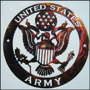 US Army Metal Sign