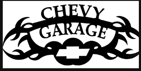 CHEVY GARAGE METAL SIGN