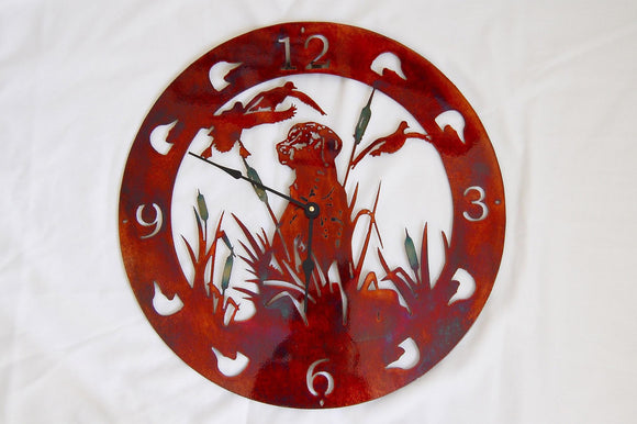 LAB COPPER CLOCK