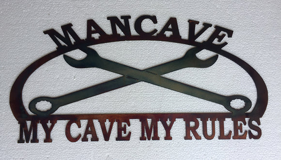 MANCAVE, MY CAVE, MY RULES