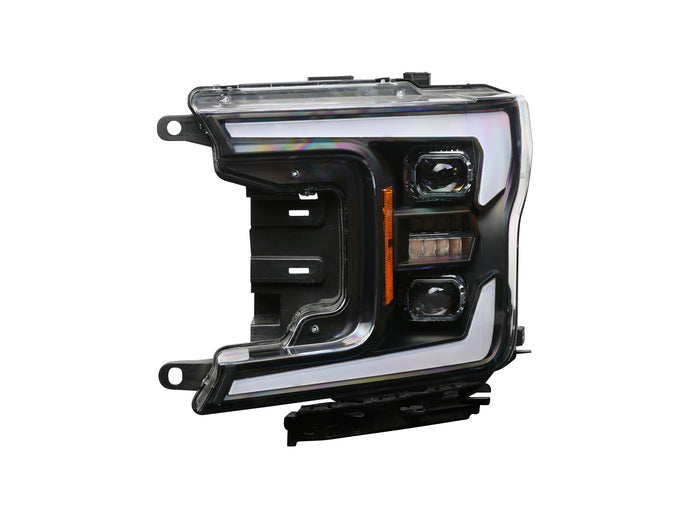 2018-2020 FORD F-150 ELITE SERIES LED PROJECTORS - CHROME PROJECTOR BEZEL