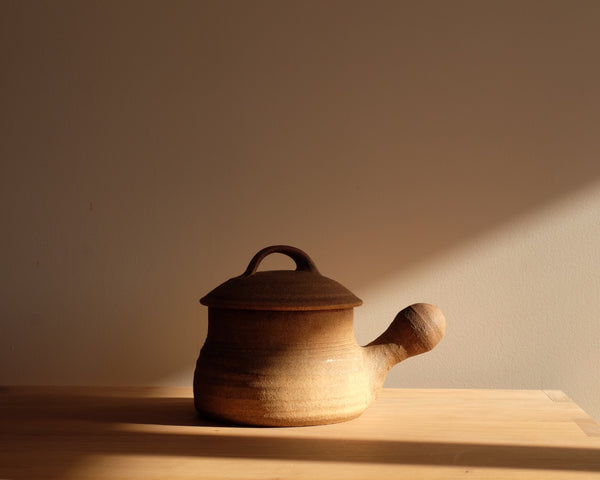 Earthenware Pot with Lid