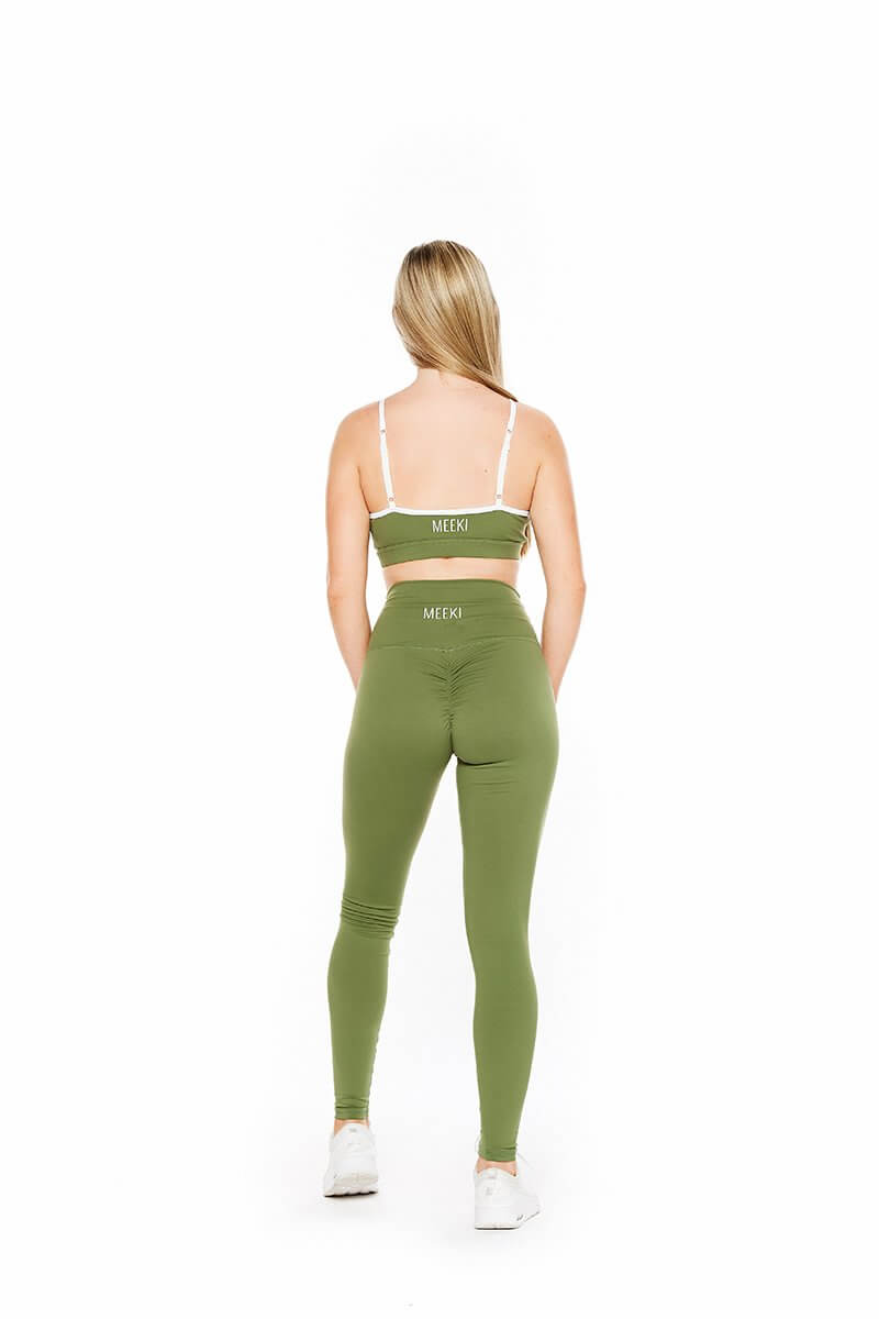 Original khaki high waist leggings