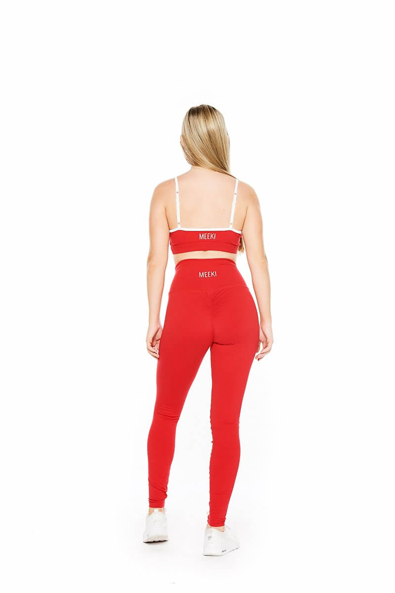Original red high waist leggings